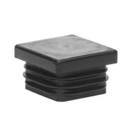 ILQ 28/1-3 Záslepka do Jäcklu čtvercová  28x28 černá