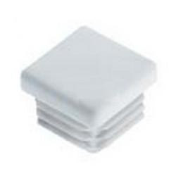 ILQ 15/0,8-2 Záslepka do Jäcklu čtvercová černá 15x15 bílá