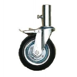 Kolo na lešení Z 160/NWH kolo s brzdou a trubkou