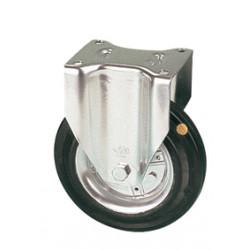 LAR 080/FI   Pevné kolo s černou antistatickou gumovou obručí