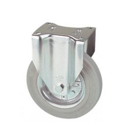 LWR 125/FI   Pevné kolo s šedou antistatickou obručí