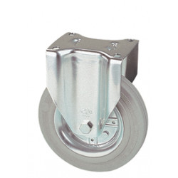 LWR 160/FI  Pevné kolo s šedou antistatickou obručí