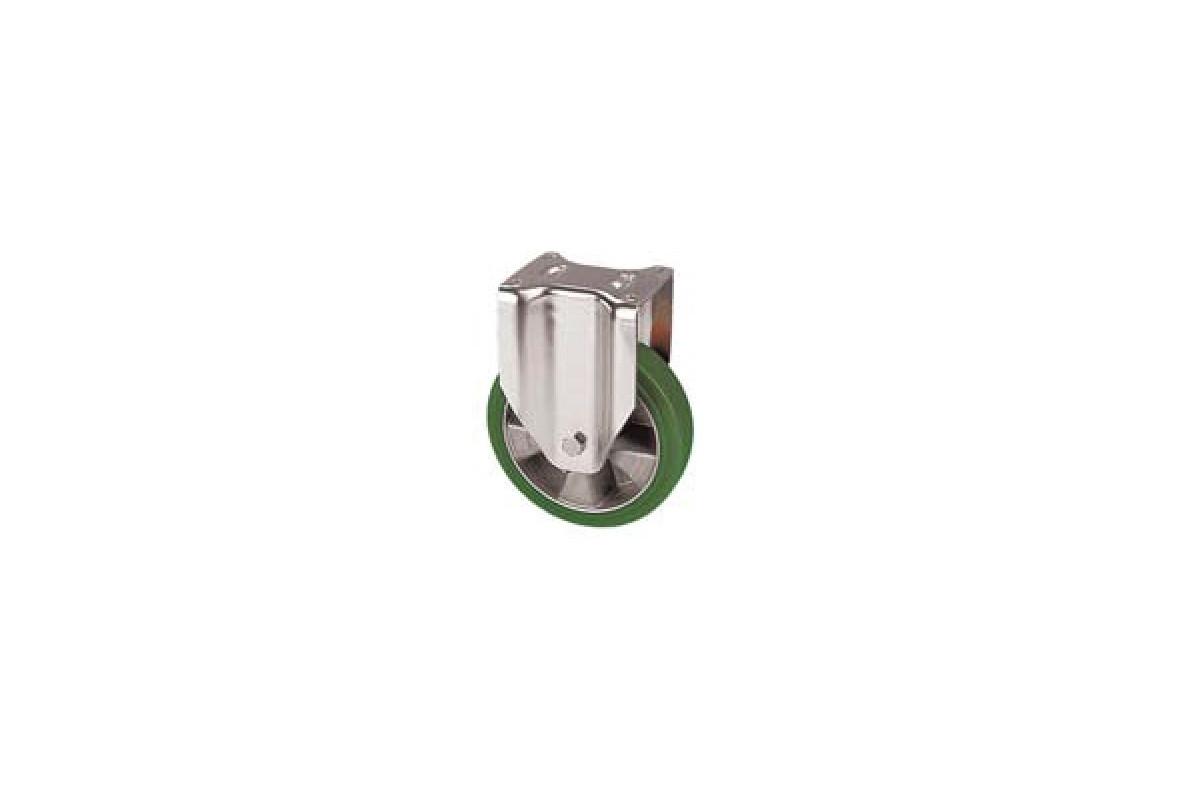 ZZK 200/FT Pevné kolo se zelenou polyuretanovou obručí