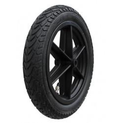 Kolo s nafukovací černou pneumatikou RAPID 295