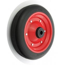 PPL 300x70x20č JL  Samostatné kolo na plechovém disku s gumovou obručí