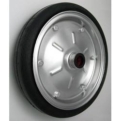 PPL 300x54x25č JL  Samostatné kolo na plechovém disku s gumovou obručí