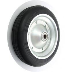 PPL 300x70x20č GL Samostatné kolo na plechovém disku s gumovou obručí
