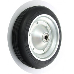 PPL 300x70x25č GL Samostatné kolo na plechovém disku s gumovou obručí