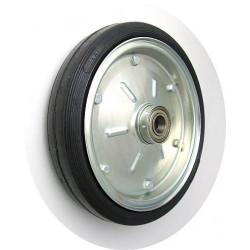 PPL 300x45x25č GL Samostatné kolo na plechovém disku s gumovou obručí