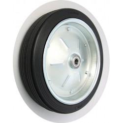 PPL 400x80xGL25č  Samostatné kolo na plechovém disku s gumovou obručí