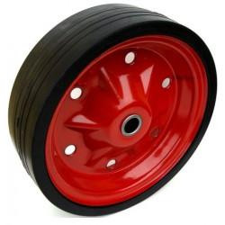 PL 260x75x20  Samostatné kolo na plechovém disku s gumovou obručí